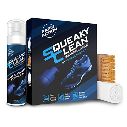 Squeaky Clean - Premium Shoe Cleaning Kit - By Crease Protect (1 Kit)