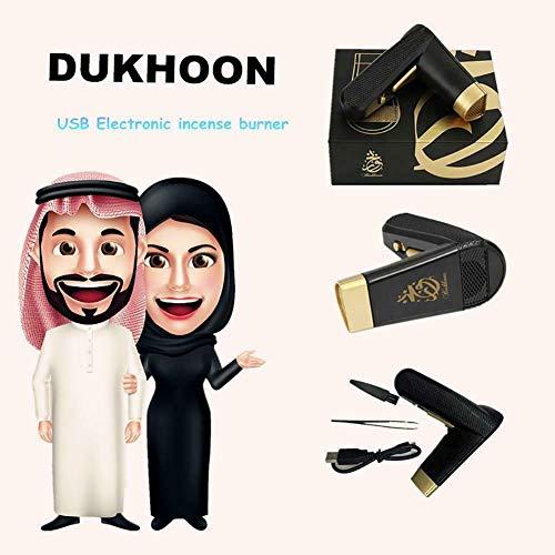 LoVing HoUSe Portable Incense Burner Arabic Electric USB Power Chargeble Incense Burner