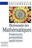 Dictionnaire des mathématiques, 2: Fondements, probabilités, applications