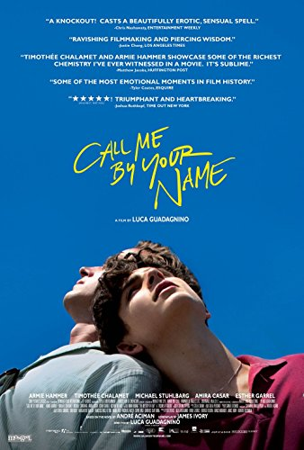 lunaprint Call Me by Your Name Movie Poster 70 X 45 cm