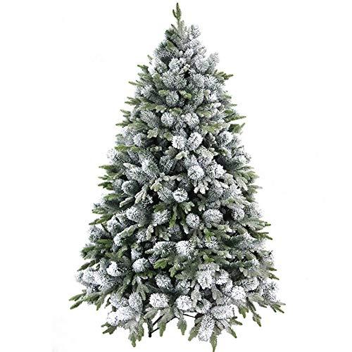 Árbol de Navidad artificial con decoración de PVC de 180 cm (6...
