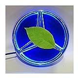 Merc-edes Be-nz Emblema LED, 2013-2015, insignia de la rejilla delantera del coche, capucha con logotipo iluminado Star DRL apto para Merc-edes Be-nz A B C E R GLK ML GL CLA CLS Class,Blue light