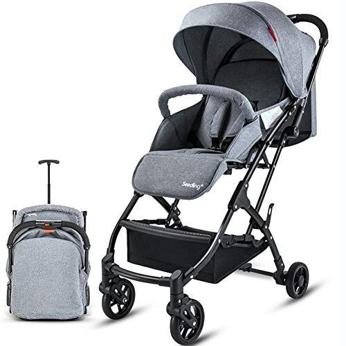 AJL Cochecitos y sillas de Paseo Desde el Nacimiento - Plegado rápido Cochecito de bebé portátil, mothercare Sistema de Viaje Viaje Adecuado for bebés de 0 a 3