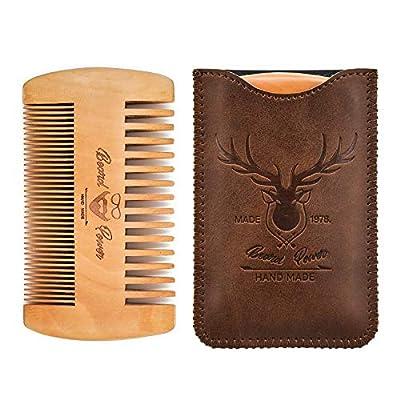 Menesia Wooden Beard Comb