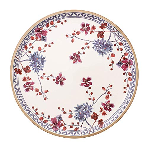 Villeroy & Boch Artesano Provençal Lavanda Piatto da Pizza, 32 cm, Porcellana Premium, Bianco/Multicolore