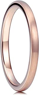 Best brushed rose gold ring Reviews