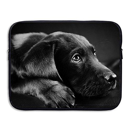 Business Briefcase Sleeve Cute Labrador Dog Laptop Sleeve Case Cover Handbag for 13 Inch MacBook Pro/MacBook Air/Asus/Dell/Lenovo/Hp/Samsung/Sony/Women & Men
