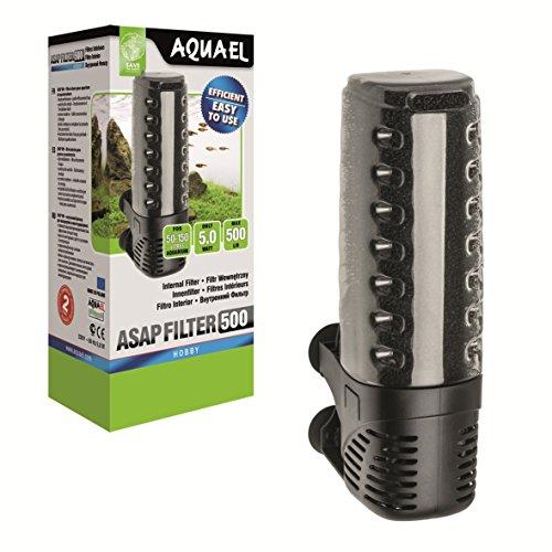 Aquael Intern Aquarium Filter ASAP - Werkt goed in ondiep water - perfect voor aqua-terraria, High-performance, efficiënte waterfiltratie