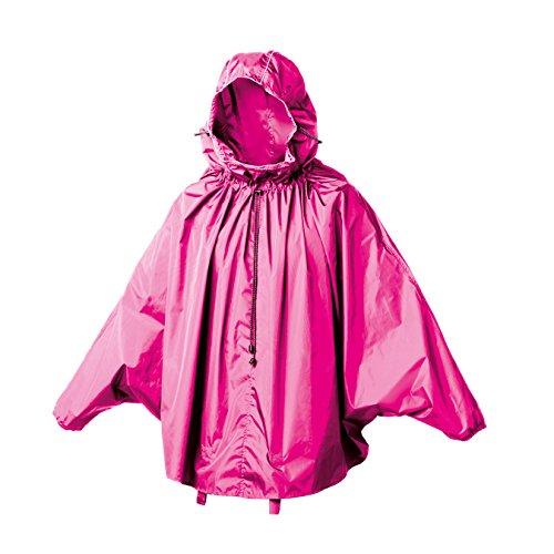 Brooks England Ltd John Boultbee Cambridge Rain Cape Poncho de pluie M/L Géranium