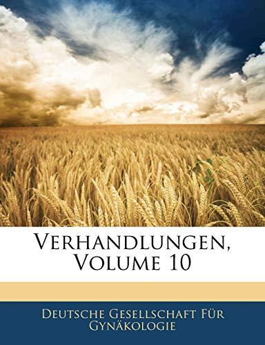 Verhandlungen, Volume 10
