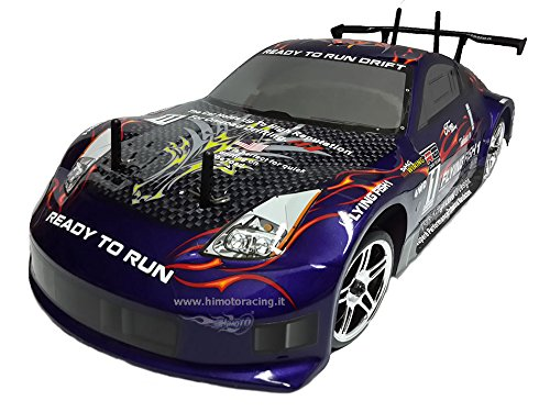 Himoto AUTOMODELLO Drift 1/10 ON-Road Elettrico Brushed RC 540 4WD RTR Radio 2.4 GHz