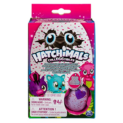 Spin Master Games Hatchimal Jumbo Card Game