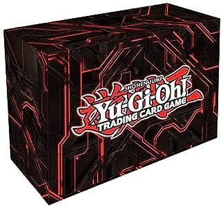 Konami Yugioh Card Game Storage Dual Double Deck Box (Version #3 - Red Zexal)