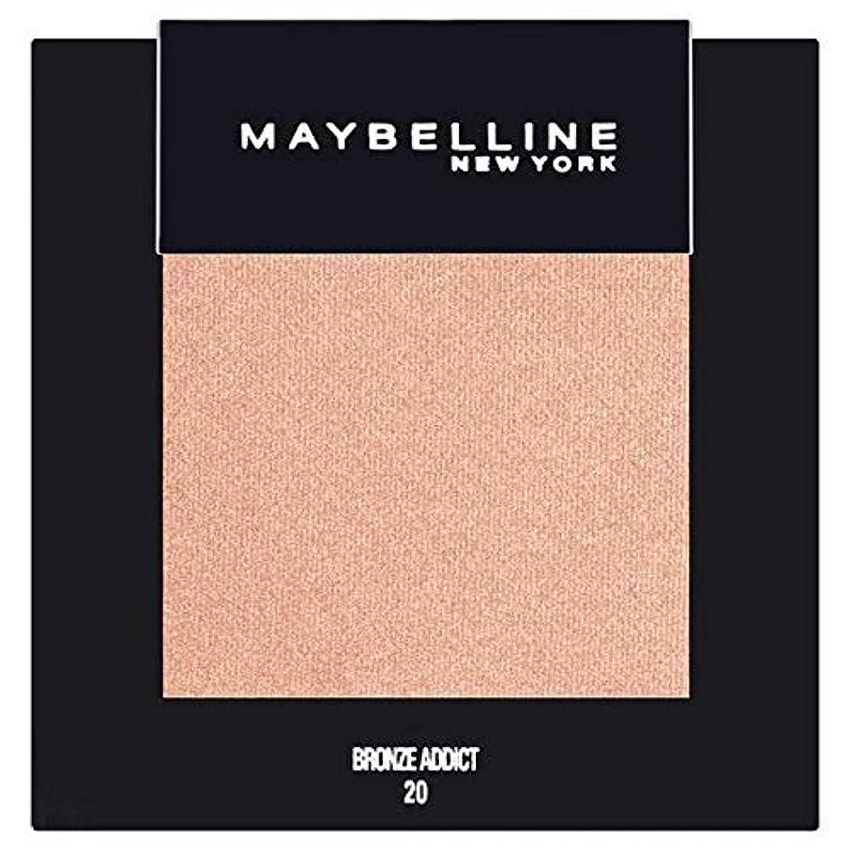 混雑スペース厳しい[Maybelline ] メイベリンカラーショーシングルアイシャドウ20ブロンズ - Maybelline Color Show Single Eyeshadow 20 Bronze [並行輸入品]