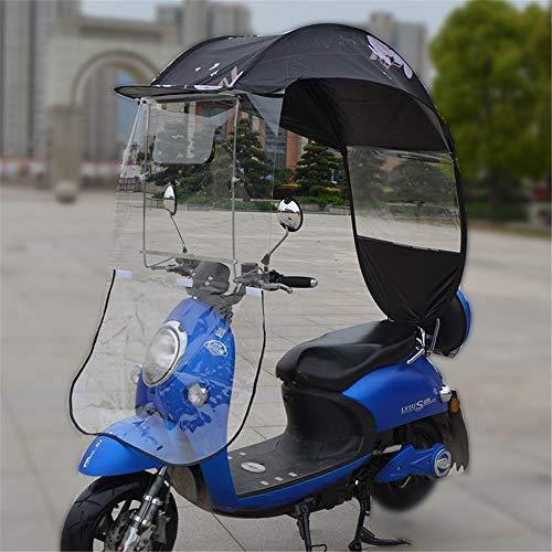 Elektrische motorfiets Zonnescherm Canopy Umbrella Cover Battery Car Canopy, Motor Fiets zonneklep Shade Tent Umbrella voorruit,E
