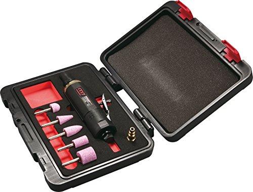 Mighty Seven QA0207 Set met slijper, recht, met vergrendelingsring, met accessoires, 7-delige set