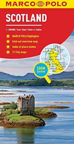 Scotland Marco Polo Map (Marco Polo Maps)