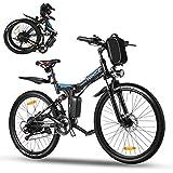 Vivi Ebike Mountainbike 26 Zoll Elektrofahrrad Klappbar Für Herren und Damen,36V 350W Ebike mit...