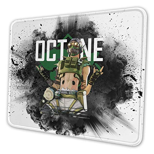 Ap-Ex Leg-Ends Octane Gaming Mouse Pad Square Mouse Pad, Anti Slip Rubber Mouse Pad for Office Laptops 10 X 12 Inch