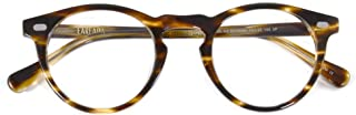 Eareada Women Men Retro Round Prescription Eyeglasses Vintage Thick Round Rim Frame Glasses