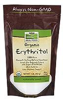 NOW Foods - 有機エリスリトール - 1 lb。