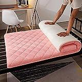 CheChe-nh Tapete plegable para colchón de futón, suave Tatami para dormir, rollo de cama japonés, grueso para dormitorio de estudiante, hogar, C, reina