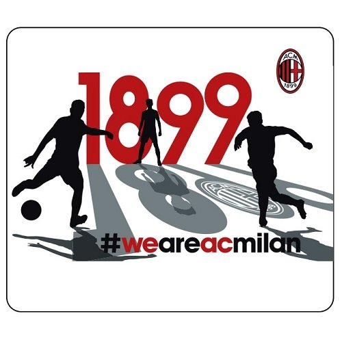 Diva Tappetino Mouse/Mouse Pad A.C. Milan - Prodotto Ufficiale (#WEAREACMILAN)