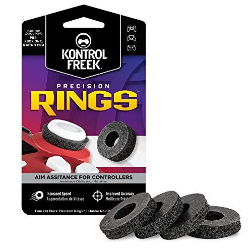 KontrolFreek Precision Rings | Aim Assist Motion Control for Playstation 4 (PS4), Xbox One, Switch Pro & Scuf Controller