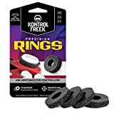 KontrolFreek Precision Rings | Aim Assist Motion Control for PlayStation 4 (PS4), Xbox One, Switch Pro & Scuf Controller (Black (Hard))
