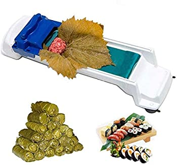 [DOLMA ROLLER] Stuffed Grape & Cabbage Leaves Rolling Machine Turkish Sarma Dolmas Maker Rolling Tool Dolmer As Seen On TV