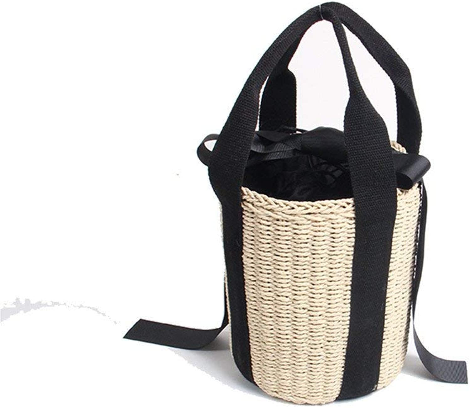 Evening Bag Straw Bag Woven Bag Beach Bag Slung Bucket Small Bag Simple Fashion Holiday Handbag Party Handbag