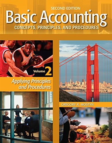 Basic Accounting Concepts, Principles, and Procedures, Volume 2, 2nd Edition