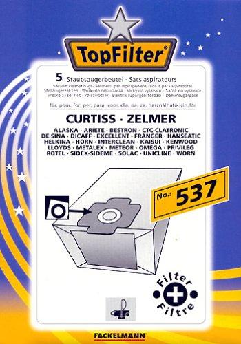 FACKELMANN Top Filter 5 Staubsaugbeutel Nr. 537