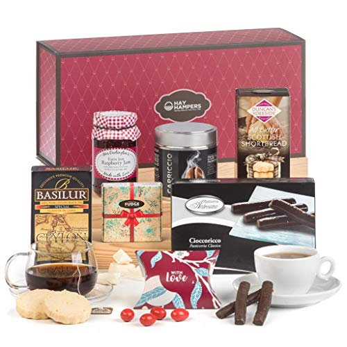 Traditional Tea Time Treats Hamper Gift Box