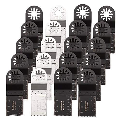 No branded Saw Blade 20pcs Oscillating Tools 32mm Saw Blades for Fein Multimaster B-o-SCH Makita Multitool Home Tool