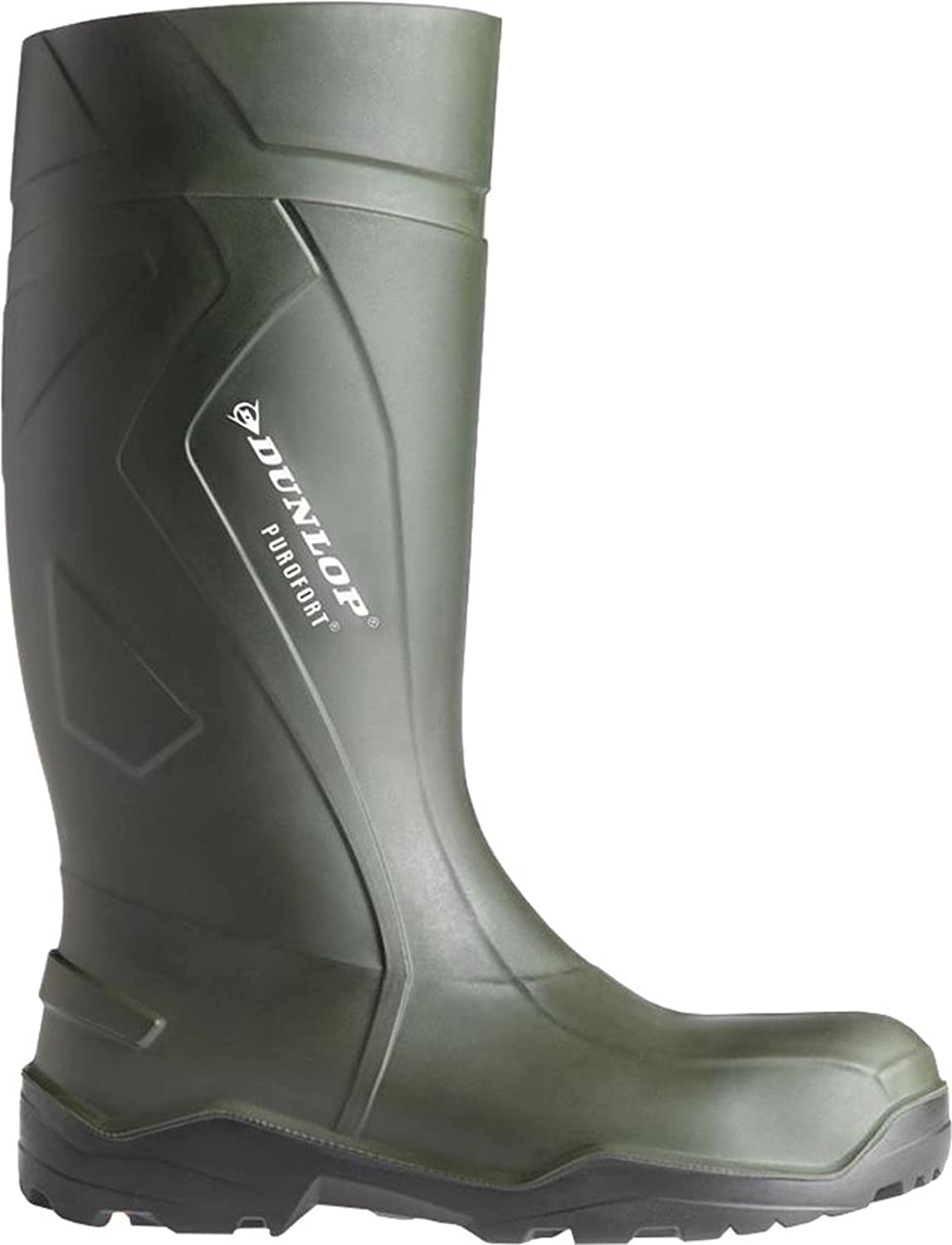 Dunlop C762933 Mens Purofort Plus Full Safety Standard Wellington Boxed Boots