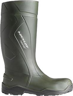 Dunlop C762933 Mens Purofort Plus Full Safety Standard Wellington Boxed Boots