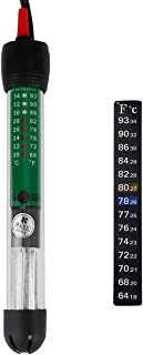 Uniclife Aquarium Heater Submersible with Thermometer, 25 Watt for 5 Gallon Fish Tank thumbnail