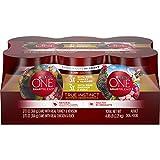 Purina ONE Natural Gravy Wet Dog Food Variety Pack, SmartBlend True Instinct Tender Cuts - (6) 13 oz. Cans