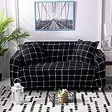 YQGOO, Funda elástica Estampada para sofá, Funda de poliéster para sofá, fácil de Instalar, Lavable, Antideslizante, Protector de Muebles para 1 2 3 4 Seat-AZ-1Seat 90-140CM (35-55inch)