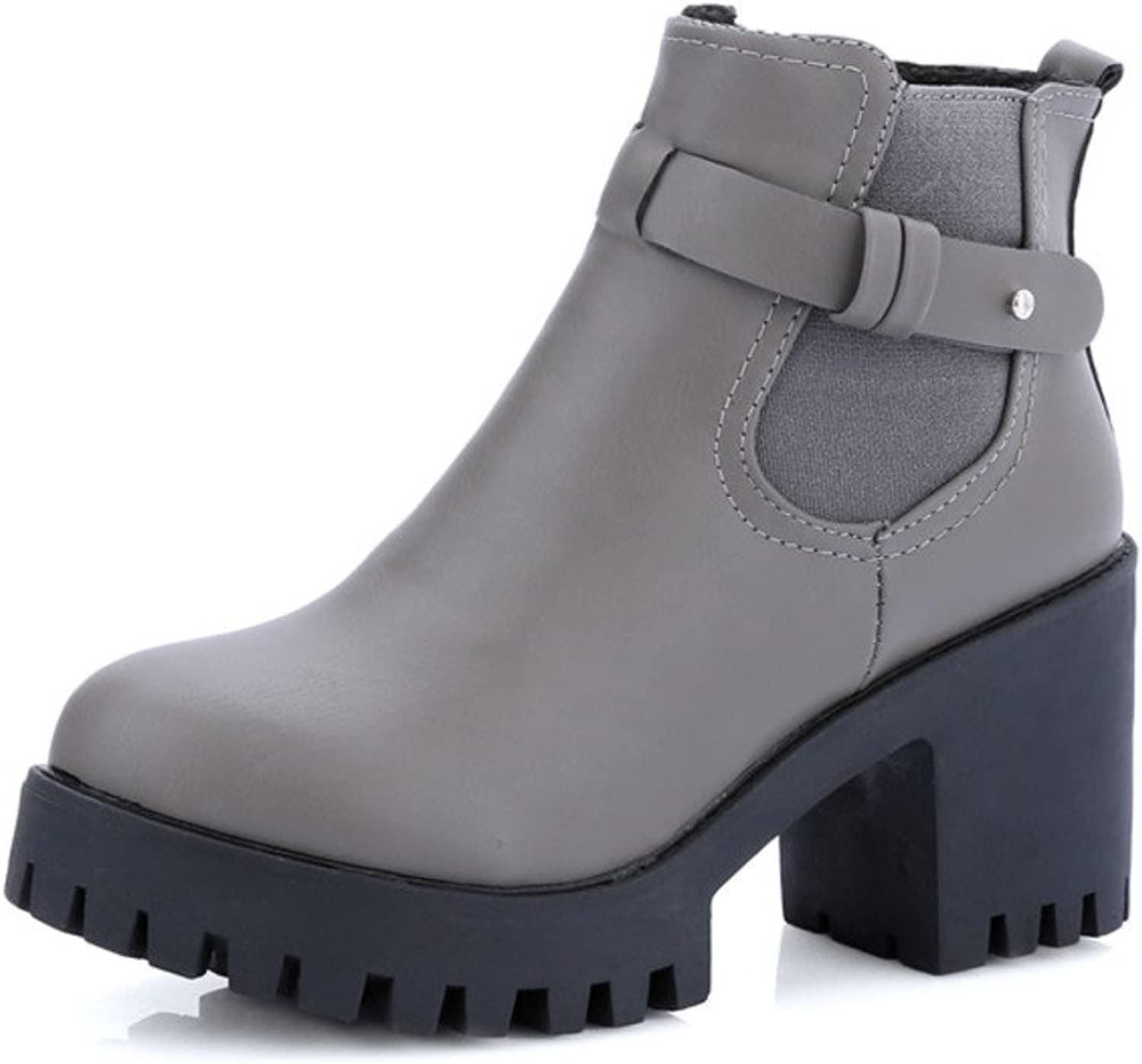 The spring and Autumn period Chelsea Martin boots Rough side zip boots in England