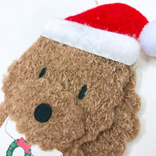 サンリオクリスマスカード洋風ふかふかトイプードルS7178
