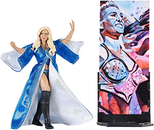 WWE Figura Elite Wrestlemania de acción, luchadora Charlotte (Mattel FMG31) ,...