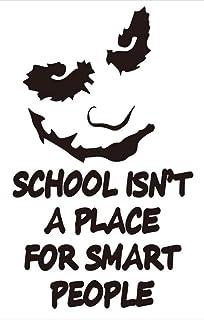 ملصق مائي مصنوع يدويًا من الفينيل مقطوع بالقالب ومطبوع عليه اقتباسات المدرسة من MDecal