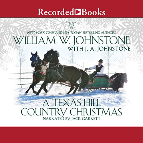 A Texas Hill Country Christmas audiobook cover art