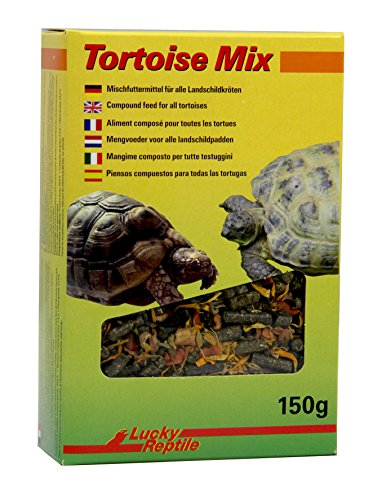 Lucky Reptile Tortoise Mix 150 g, Mezcla de pellets de pellets de pellets para Tortugas terrestre