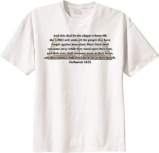BibleShirts Zechariah 14:12 Short Sleeve T-Shirt