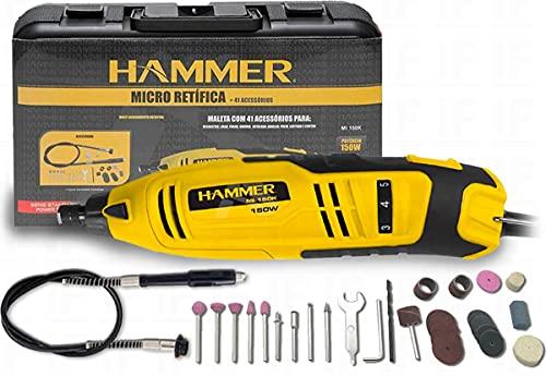 Kit micro retífica 150 watts 41 acessórios - GYMI150 - Hammer (220V)