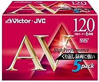 VICTOR ビデオテープKシリーズ 5T-120AVK VHSビデオテープ