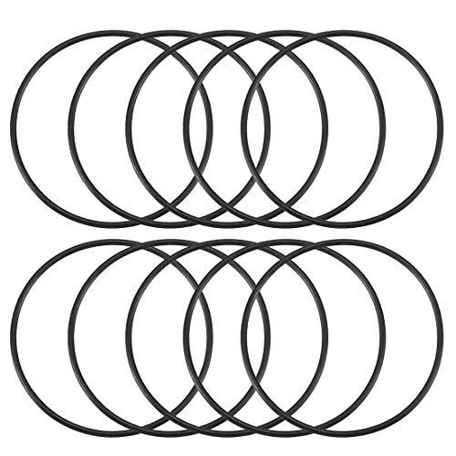 48 mm x 5 mm Flexible Gummi-Dichtung Ölfilter O-Ringe Dichtungen 10 Stück de
